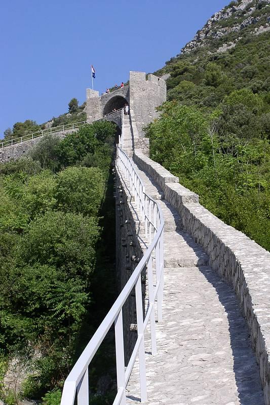 Hradby města Ston zpřístupněny turistům