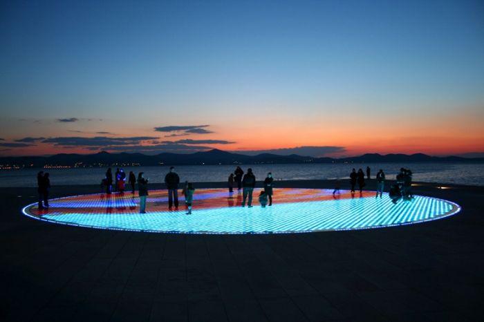Zadar - pozdrav slunci