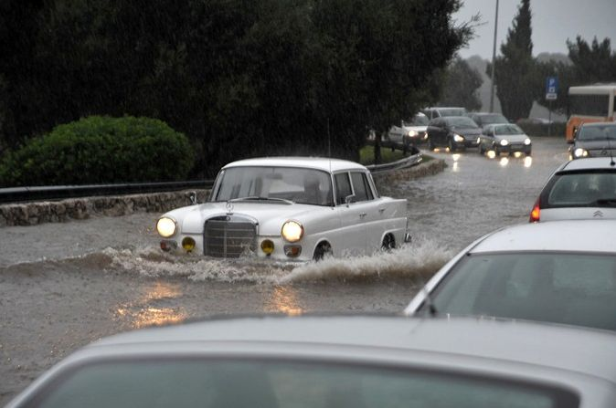 povodně v Medulinu