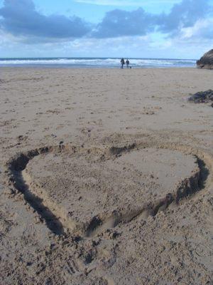 Valentýn u moře