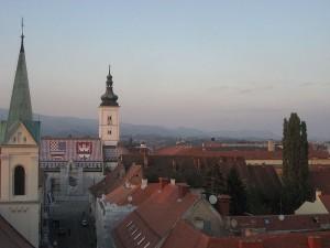 Záhřeb - Chorvatsko