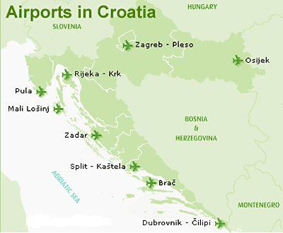 Letiště Chorvatsko