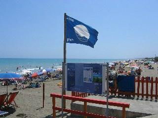 Modrá vlajka Chorvatsko 2010