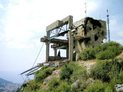 stará lanovka Dubrovnik