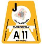 dálniční známka Rakousko