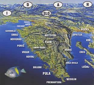 Istrie Chorvatsko