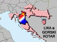 Lika a Gorski Kotar - vnitřní část Kvarneru
