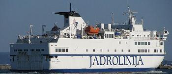 Jadrolinija jízdní řády trajektů Chorvatsko