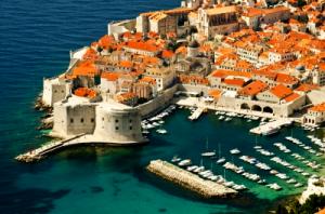 přístav v chorvatsku