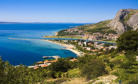 Omiš - jižní Dalmácie