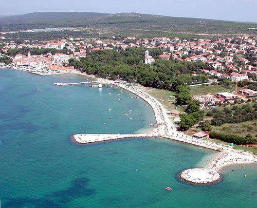 Sveti Filip i Jakov - severní Dalmácie