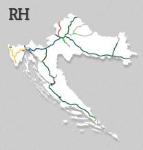 dálnice Chorvatsko