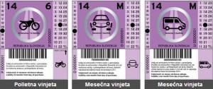 Dálniční známka Slovinsko 2014