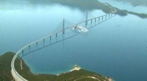 most Pelješac