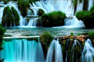 Národní park Krka - malebný kaňon se sedmi vodopády