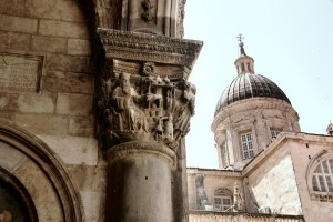 Dubrovnik - Romanesque, Renaissance, and Baroque architecture side by side