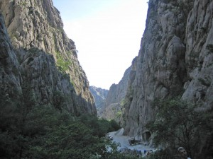 Nationalpark_Paklenica_Schlucht
