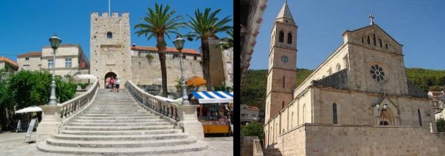 Korčula - riviéra Dubrovnik