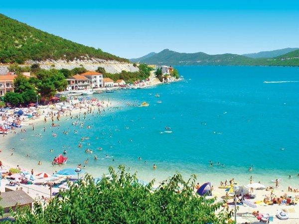 pláž Klek