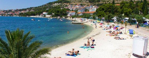 Seget Donji pláž