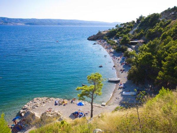 Lokva Rogoznica pláž