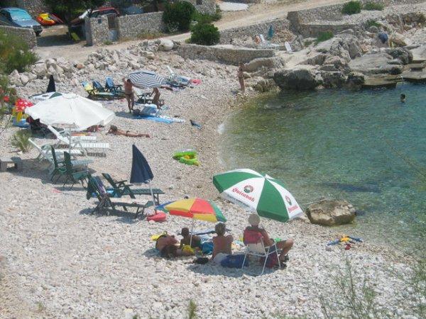 pláž Oštrica