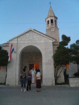 Povlja na ostrově Brač - jižní Dalmácie