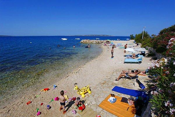 mandre pláž