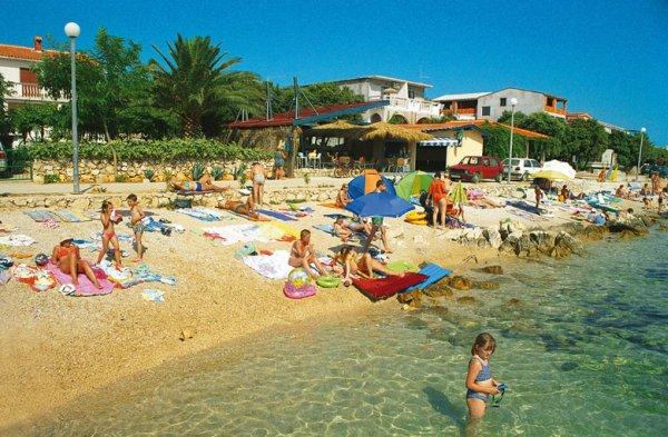mandre pláže