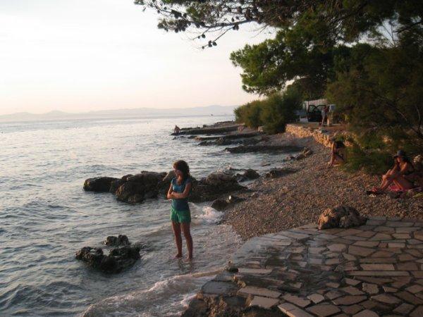 milna pláž