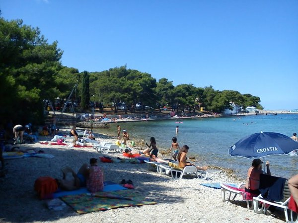 Petrčane pláž