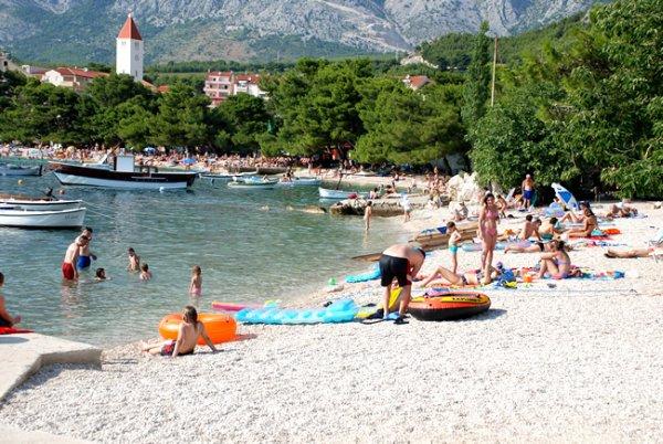 Promajna u Baška Vody - jižní Dalmácie
