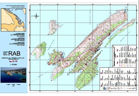 mapa rab