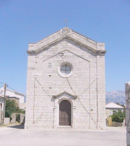 Ražanac kostel