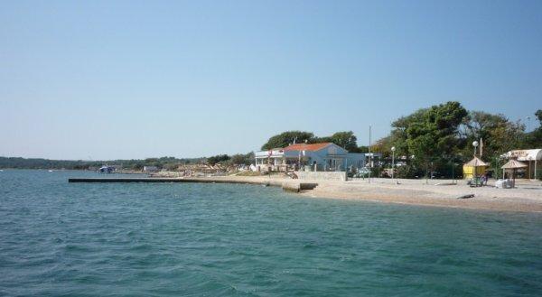 pláž Kornič