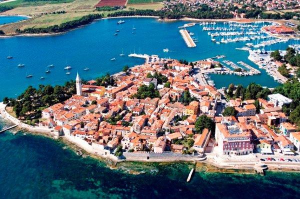 Nejlepší střední destinace v Chorvatsku - Novigrad (Istrie)