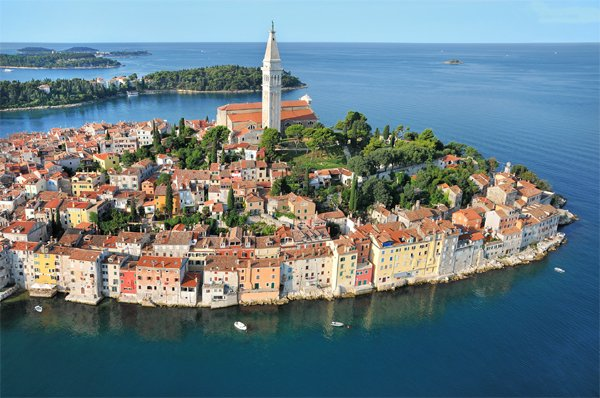 Nejlepší destinace Chorvatska -  Rovinj