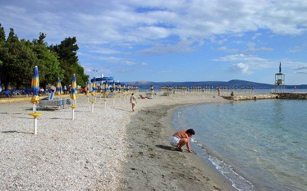 Selce pláž