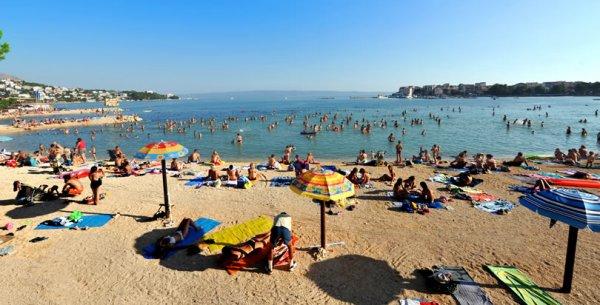 Stobreč pláž