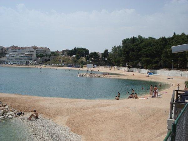 Stobreč pláže