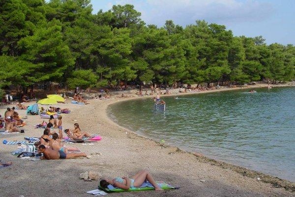vrboska pláže