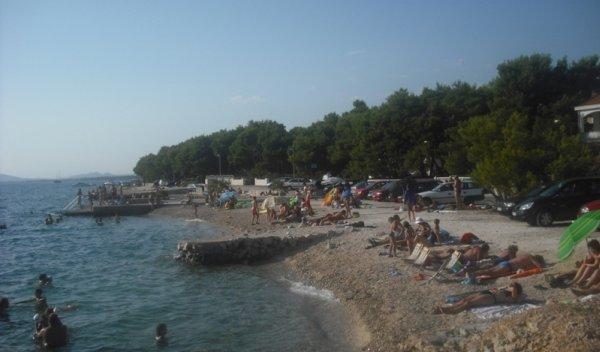 pláž Zablaće