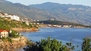 chorvatské hory a pobřeží