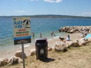 Chorvatsko se psem - pláže pro psy v Chorvatsku