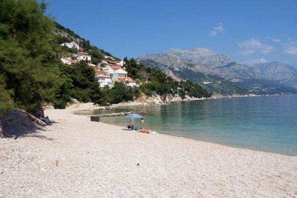 Pisak pláž Omiš