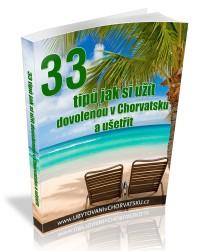zdarma knížka 33 tipů do Chorvatska