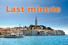 last minute Chorvatsko