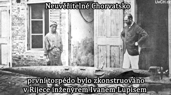 chorvatské torpedo ivan lupis