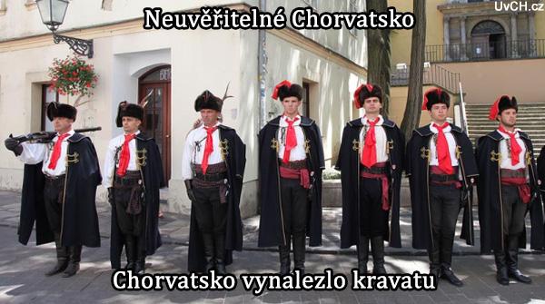 Chorvatští vojáci jako první použili a popularizovali kravatu