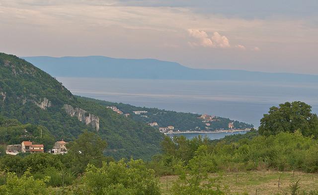 Cyklistické stezky v Istrii